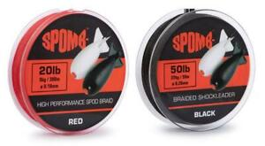 Spomb Braid & Braided Leader / Carp Fishing Spodding Line