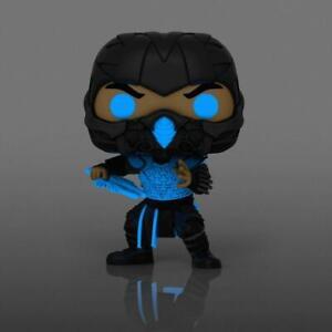 Mortal Kombat (2021) Sub-Zero Glow in the Dark Pop! Vinyl Figure **Preorder