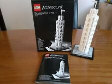 LEGO Architecture The Leaning Tower of Pisa (21015) with box and instructions