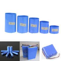 18650 Li-ion Battery Heat Shrink Tube Wrap Skin PVC Shrinkable Film Tape Sleeve-