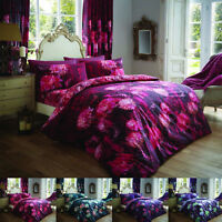 Duvet Cover Set  King Size Double Super Single With Pillowcase Curtain Designer