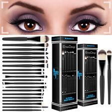 20Pc Professional Makeup Brush Set Sephora Liquid Foundation Eyeshadow Eyeliner