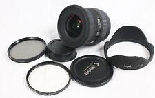 Sigma EX DC HSM 10-20mm f/4-5.6 Ultra Wide Angle Canon DSLR EF Mount Lens