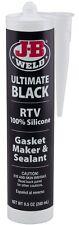 JB Weld 32929 Ultimate Black RTV Silicone Gasket Maker and Sealant - 9.5 oz