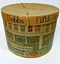 Vintage Dobbs Fifth Avenue Hat Box Free Ship