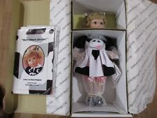 Bets Van Boxel Hamilton Collection Porcelain  Doll Becky  new in box 1993   (