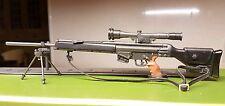 1/6 SCALA Heckler & Koch PSG-1 FUCILE GUN-BAG Arma per la figura 12 in (ca. 30.48 cm)