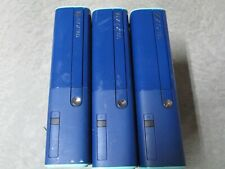 Lot of 3 Xbox 360 E Blue Consoles All Working 4GB Internal Hard Drive