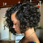 Fashion Women Short Curly Wavy Synthetic Curl Party Wig Hairpiece Cosplay Wigs