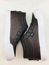 DC Kids Evan Hi SE Brown Leather Skate Shoes Little Kids Size 3.0 NEW
