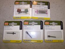 PROXXON ROTARY HOBBY TOOL BITS - THEY FIT DREMEL TOOLS ALSO- MADE IN GERMANY (5)