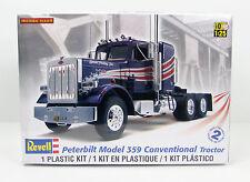 Peterbilt 359 Conventional Tractor Revell 85-1506 1/25 New Truck Model Kit