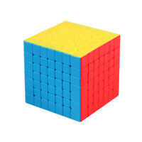 Zauberwürfel MoYu Meilong 7x7 stickerless/black original Speedcube magic cube