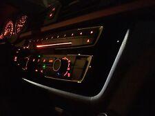 BMW OEM Trim cover A/C panel gloss black illuminated Dashboard Frame F30 F32 F80
