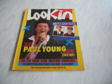 Look-In magazine Junior TV Times 1986 15 February No. 8 complete Pet Shop Boys