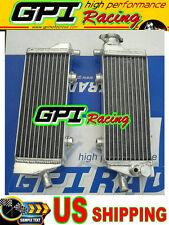 L/R Aluminum radiator KTM 250/450/530 EXC/EXC-F EXCF 2008 2009-2011 10 08 09 11