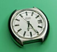 1970s Renis Geneve Electronic Watch with ESA 9150 Movement Great Condition (J61)