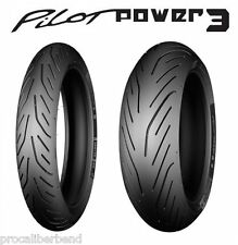 120/70-17 & 180/55-17 Michelin Pilot Power 3 Motorcycle Front and Rear Tire Kit
