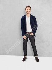 $108 Gap 1969 Premium Japanese RAW Rigid Selvedge Jeans 33 x 32 nwt