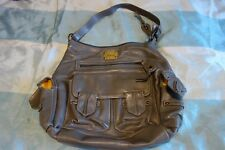 Harrods Womens Ladies Large Handbag - Grey, Silver, Light Brown