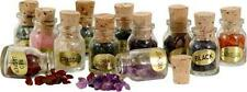 12 Corked Apothecary Style Jars of Semi-Precious Stone Nuggets!