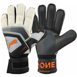 PUMA Men's One Protect 2 RC Goalkeeper Gloves Silver/Black 041478 01