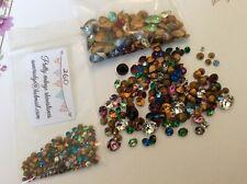 520 Vintage Swarovski Rhinestones jewellery repair Brooch Craft mixed shape size