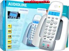 Audioline DECT/GAP analog schnurlos Telefon OSLO 200 mit Basis