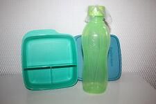 TUPPERWARE Set Eco Easy Flasche 500 ml Clevere Pause Dose Früstukbox grün