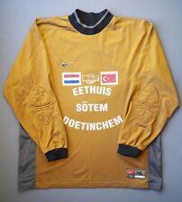 5/5 Holland vs Turkey friendly match jersey goalkeeper shirt XL soccer Nike