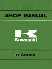 Kawasaki service manual 1969, 1970, 1971, 1972 & 1973 H1 500cc triple