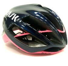 Kask Protone Cycling Helmet Navy Blue/Pink Small $300 MSRP 215 grams light