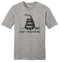 Mens Don't Tread On Me Gadsden Flag Gun Rights Shirt Soft Tee Hunting Shooting