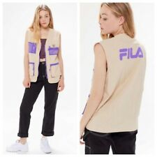 NWT Fila UO Exclusive Rane Zip Front Vest Size Large