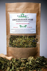Ground Elder Dried Herb (Aegopodium Podagraria L.) Goutweed Podagrycznik 50g
