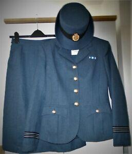WRAF uniform Jacket, Skirt & Cap to fit @ size 10