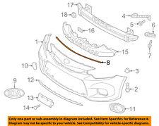 KIA OEM 14-16 Forte Front Bumper-Filler Strip 86357A7001