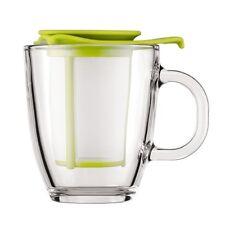 Genuine Bodum YO-YO Personal Tea Strainer Infuser 12-oz Lime Green K11239-565