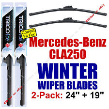 WINTER Wiper Blades 2pk Premium - fit 2014-2015 Mercedes-Benz CLA250 - 35240/190