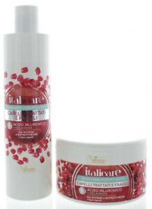 Hyaluron Haarshampoo + Haarmaske mit Granatapfel (2x300ml) Hyaluronsäure