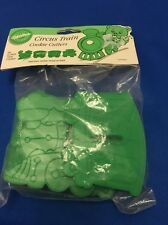 Wilton Circus Train 4  Cookie Cutters 1990 NEW in original package