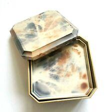 OTAGIRI Coasters Drink Lacquerware Faux Marble Blue Pink Tie Dye Box Set Japan