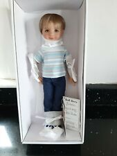 LITTLE DARLING NO. 3 BOY SCULPTED BY DIANNA EFFNER, OUTFIT & SHOES, NEW
