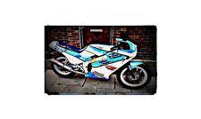 1986 suzuki gsxr400 Bike Motorcycle A4 Photo Poster