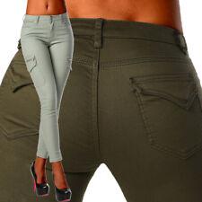 Sexy New Women's Stretchy Khaki Jeans Trousers Skinny Slim Combat Style A 881