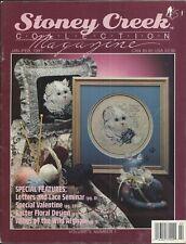 STONEY CREEK CROSS STITCH COLLECTION MAGAZINE Jan/Feb 1991 ~ Vol 3 #1