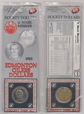 1983 Edmonton Oilers Mark Messier Hockey Dollar