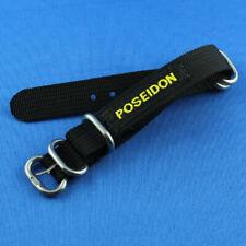 Uhrenarmband Gurtband Poseidon extra lang 14mm bis 16mm