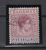 AC4756/ BRITISH BAHAMAS - KGVI - SG # 156 USED
