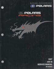 New listing 2007 POLARIS  RACING SNOWMOBILE 440 IQ SERVICE MANUAL 9920463 (801)